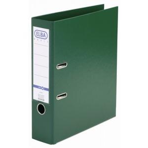 ELBA Biblioraft verde A4 plastifiat PP/PP interior-exterior 80mm Smart Pro