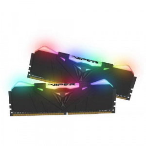 Patriot Memory Viper RGB Black, 32GB, DDR4-3600Mhz, CL18 PVR432G360C8K