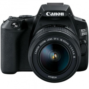 Canon EOS 250d + 18-55 dc iii kit black