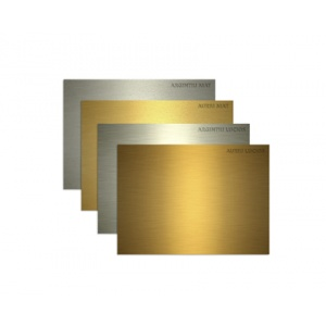 Redsail PLACA DIN PLASTIC ABS PT. GRAVATOARE REDSAIL, argintiu lucios 330158