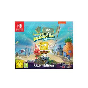 THQ Nordic Spongebob Squarepants Battle For Bikini Bottom Rehydrated Fun Edition Nintendo Switch