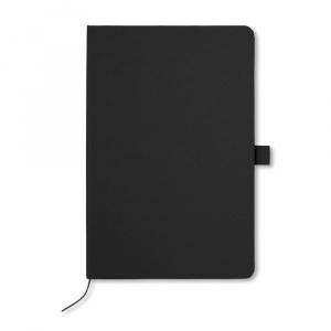 Everestus Agenda A5 cu pagini dictando, AG34, hartie, negru, lupa de citit inclusa