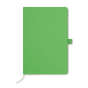 Everestus Agenda A5 cu pagini dictando, AG35, hartie, verde, lupa de citit inclusa