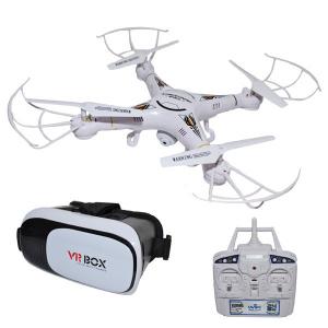 Roben Toys Drona RC cu camera, Wi-Fi si ochelari VR