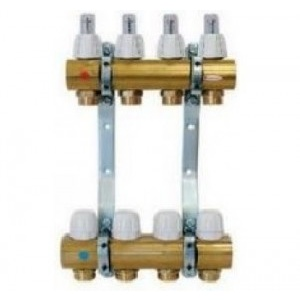Capricorn Distribuitor/colector alama cu debitmetre 11 circuite Optimum 1