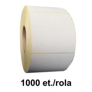 ZINTA Role etichete semilucioase 70x121 mm, 1000 et./rola - 70X121X1000-SGP