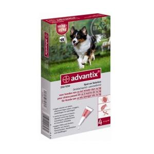 Bayer soluţie spot-on pentru câini A.U.V. pentru câini între 10-25 kg (1 x 2,5 ml)