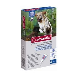 Bayer soluţie spot-on pentru câini A.U.V. pentru câini între 25-40 kg (1 x 4,0 ml)