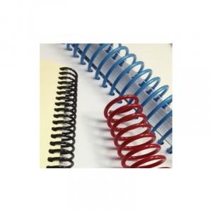 Ronic Spirala continua plastic A4 pas 3:1 8 mm Rosu