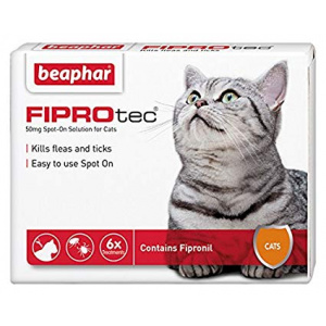 Beaphar FiproTec Spot On pentru pisici 6 buc.