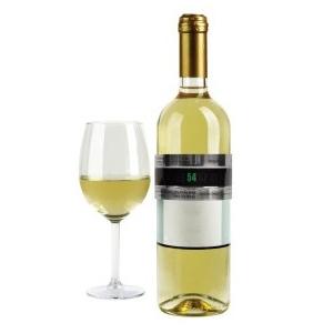 Kikkerland Termometru pentru sticla vin