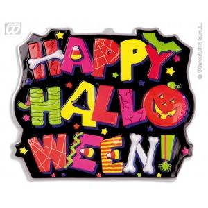 Widmann Decor 3D Happy Halloween WID6843T