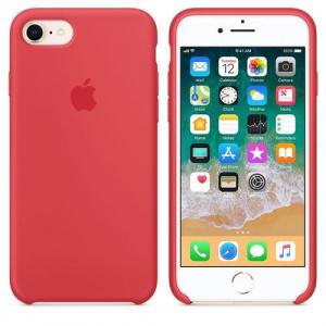Apple MRFQ2ZM/A Silicone pentru iPhone 7/iPhone 8 (Rosu)