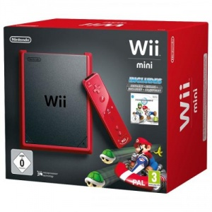 Nintendo Consola Wii mini + Mario Kart Wii