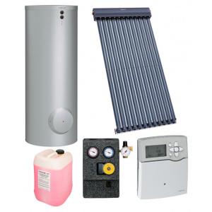 Viessmann Pachet colector solar cu tuburi vidate Vitosol 200 TM cu boiler bivalent Vitocell 300l