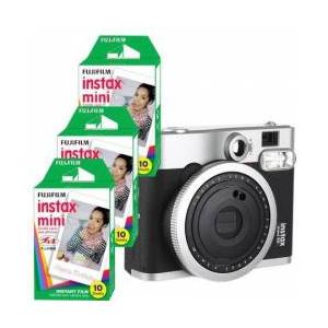 Fuji Instax mini90+ 3 cutii film Instax