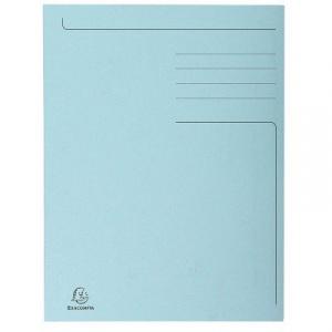 Exacompta Dosar carton plic, albastru