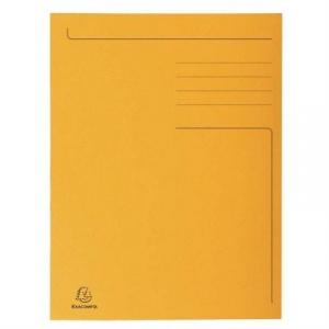 Exacompta Dosar carton plic, portocaliu