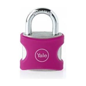 Yale Lacat Aluminiu Cu Cheie YE3381191P 38mm Roz