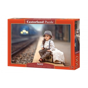 Castorland Puzzle Its a big world out there 500 piese