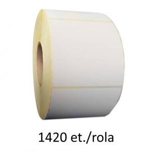 ZINTA Role etichete semilucioase 50x26 mm, 1420 et./rola - 50X26X1420-SGP