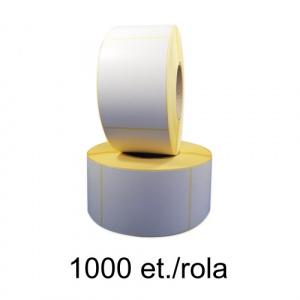 ZINTA Role etichete semilucioase 81x143mm, 1000 et./rola - 81X143X1000-SGP