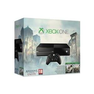 Microsoft Consola Xbox One Fara Kinect Plus Assassins Creed Black Flag Si Unity