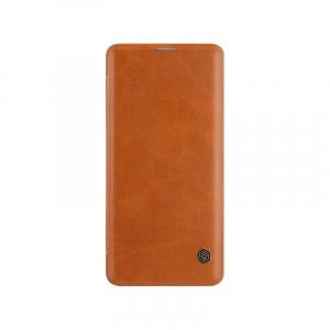 Nillkin Book Qin pt OnePlus 7 Pro, brown