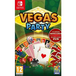 Funbox Media Vegas Party Nintendo Switch