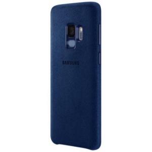 Samsung Alcantara blue pentru Galaxy S9 (EF-XG960ALEGWW)