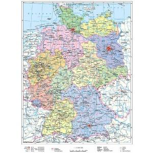 Stiefel Germania Harta Politica Harta Contur Germana 27550