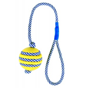 Trixie Toy with Phosphorescent Rope, Natural Rubber  34961