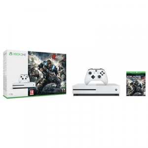 Microsoft Consola Xbox One S 1TB Gears of War 4 Limited Edition Bundle White