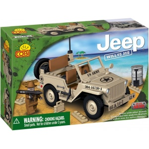 Cobi Small Army - JEEP Willys MB desert