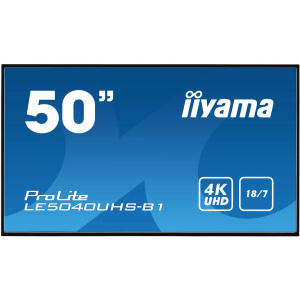 Iiyama ProLite LE5040UHS-B1 Black