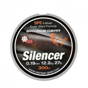 Savage Gear Fir Textil HD8 Silencer, 0.15mm/9kg/120m