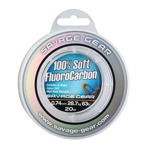 Savage Gear Fir Soft Fluorocarbon, 0.49mm/15,2kg/35m