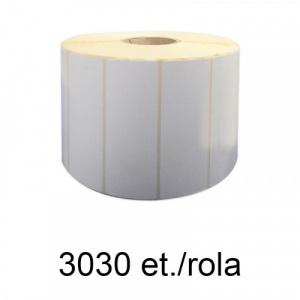 ZINTA Role etichete semilucioase 110x36mm, 3030 et./rola - 110X36X3030-SGP