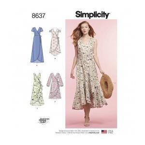 Simplicity Tipar rochii femei S 8637