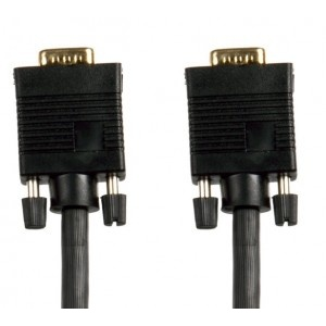 Sinox Connectech HD15VGA (T/T), 5.0m, Black, CTC4205B
