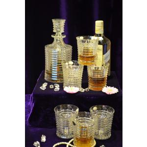 Glass LPS Bohemia Set de 7 piese pentru whisky model Blade