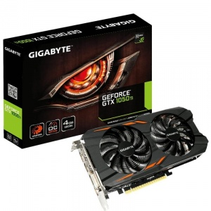 Gigabyte GeForce GTX 1050 Ti WindForce 2X OC, 4GB, GDDR5, 128 bit GV-N105TWF2OC-4GD