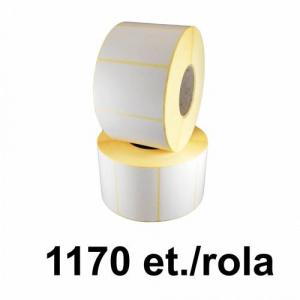 ZINTA Role etichete termice 50x32mm, Top Thermal, 1170 et./rola - 50X32X1170-TTH