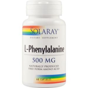 Solaray L-Phenylalanine 500Mg 60 cps