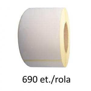 ZINTA Role etichete semilucioase 148x210mm A5, 690 et./rola - 148X210X690-SGP
