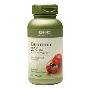 GNC Herbal Plus Extract Standardizat din seminte de Guarana 250mg 100 capsule
