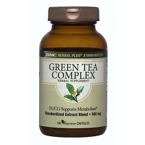 GNC Herbal Plus Standardized Green Tea Complex 100 capsule