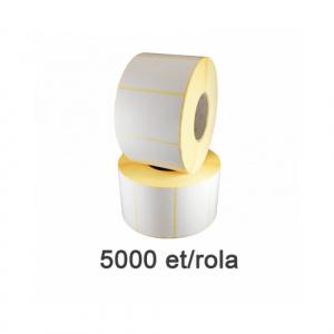 ZINTA Role etichete termice 60x30mm, 5000 et./rola - 60X30X5000-TH