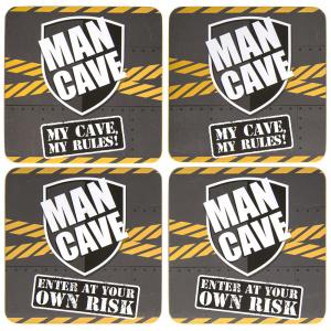 Lesser & Pavey Coaster - Man Cave