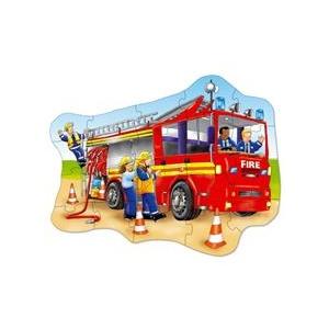 Orchard Toys Puzzle De Podea - Masina De Pompieri (20 Piese) - (258)